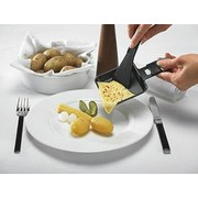 Raclette-Grill Party - Schwarz, MODERN, Metall (22,5/45/10cm)