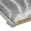 Webteppich Tyene - Hellgrau, MODERN, Textil (120/170cm) - Ombra