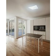 LED-Deckenleuchte Dilara - Opal/Weiß, MODERN, Kunststoff/Metall (62/62/5cm)
