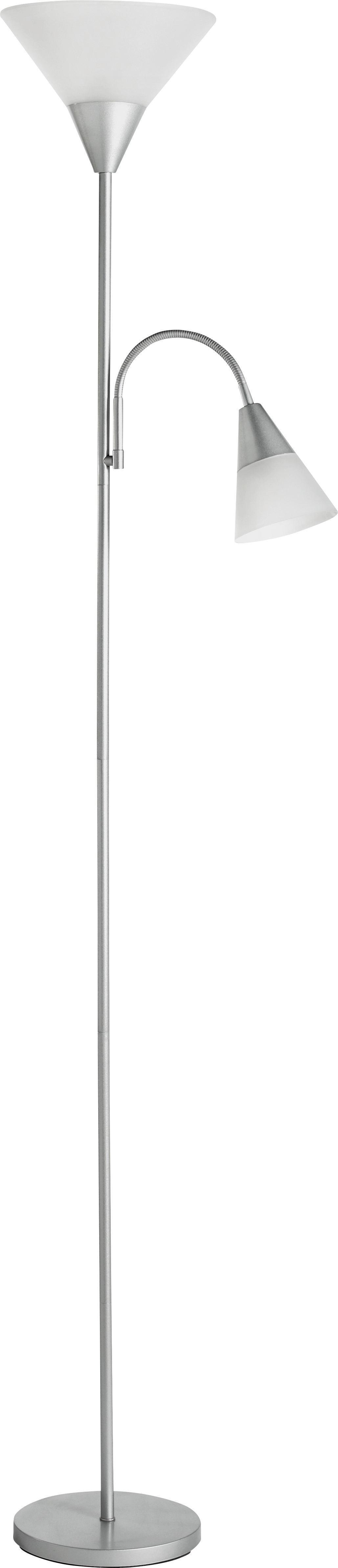 Svjetiljka Podna Filipa - boje srebra, Konvencionalno, metal/plastika (182cm) - HOMEZONE