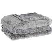 Deka Leon - světle šedá, textil (130/180cm) - Mömax modern living