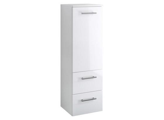 Midischrank Blanco 35 cm Weiß - Weiß, MODERN, Holzwerkstoff (35/114/35cm)