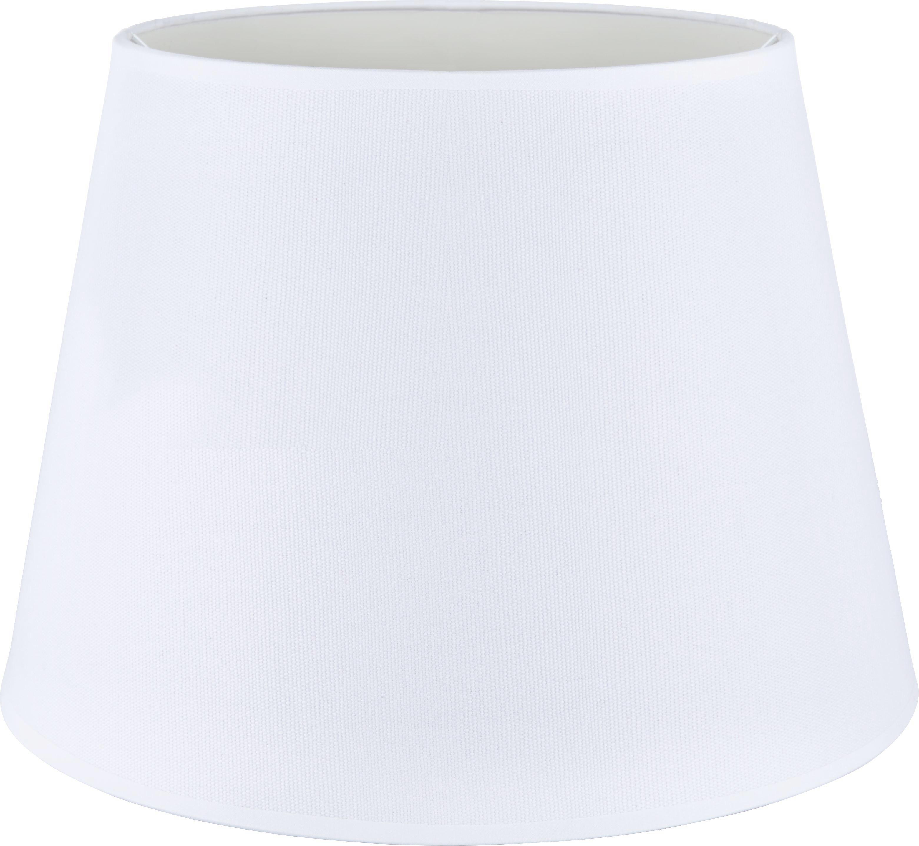 Stínítko Svítidla Selina - bílá, kov/textil (35/25cm) - MÖMAX modern living