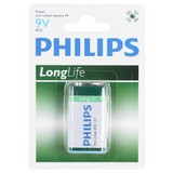 Batterie 9v Long Life - KONVENTIONELL (13/8/2cm) - Philips