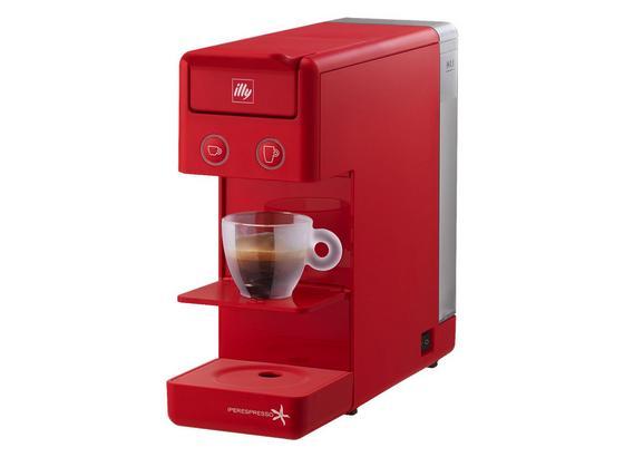 Illy Filterkaffeemaschine Y3.2 Rot - Rot, MODERN, Kunststoff (10/25,4/29,8cm)