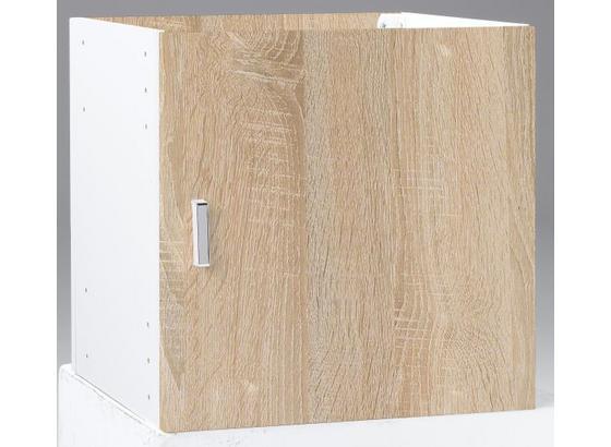 Skříňová Stěna Vkladací Prvok - barvy dubu, Moderní, kompozitní dřevo (35/35/33cm)