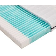 Kinderbettmatratze Bambino H2 70x140 - Weiß, MODERN, Textil (140/70/10cm) - Primatex