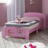 Detská Posteľ Alisa - ružová, Moderný, drevený materiál (77/60/143cm) - Mömax modern living