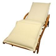 Liegenauflage Premium B: 62 cm Beige - Beige, Basics, Textil (62/8-9/195cm) - Ambia Garden
