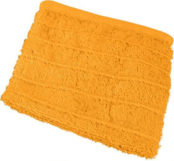 Waschlappen Lilly - Terra cotta, KONVENTIONELL, Textil (16/21cm)