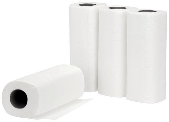 Konyhai Papírtörlő Grazia - Fehér, konvencionális, Textil - Homezone