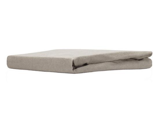Spannleintuch Regina - Taupe, MODERN, Textil (100/200cm) - Ombra