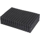 Fußmatte Alexander 40x60 cm - Schwarz, KONVENTIONELL, Kunststoff (40/60cm) - Homezone