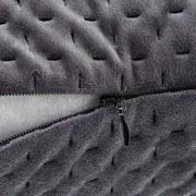Dekoračný Vankúš Miley - sivá, Moderný, textil (45/45cm) - MODERN LIVING
