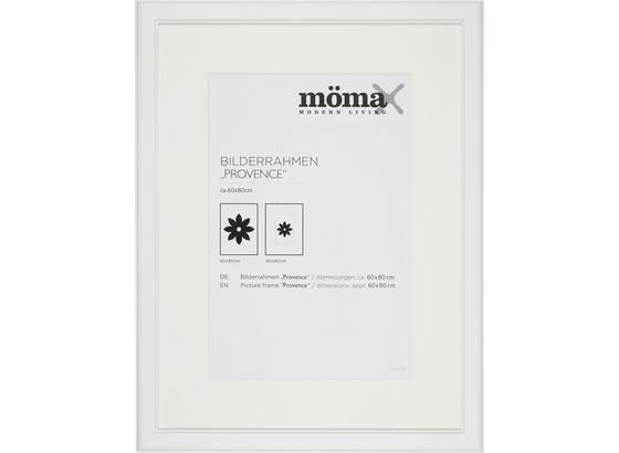 Rám Na Fotky Provence - biela, Romantický / Vidiecky, drevo/sklo (60/80cm) - Mömax modern living