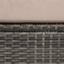 Gartenmuschel Florida - Beige/Braun, MODERN, Kunststoff/Textil (200/72/200cm) - Luca Bessoni