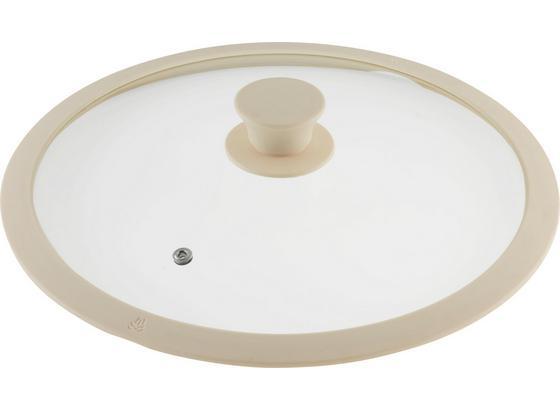 Pokrievka Marmor - krémová, Romantický / Vidiecky, plast/sklo (28cm) - Premium Living