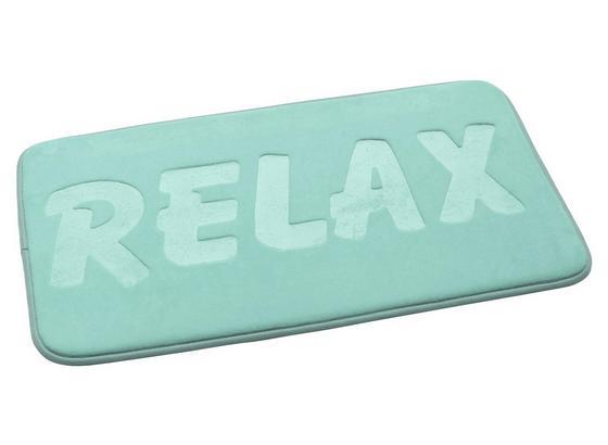 Předložka Koupelnová Relax - mátově zelená, Moderní, textil (50/80cm) - Mömax modern living