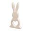Zajíc Dekorační Mona - krémová, Basics, keramika (11,5/25cm)