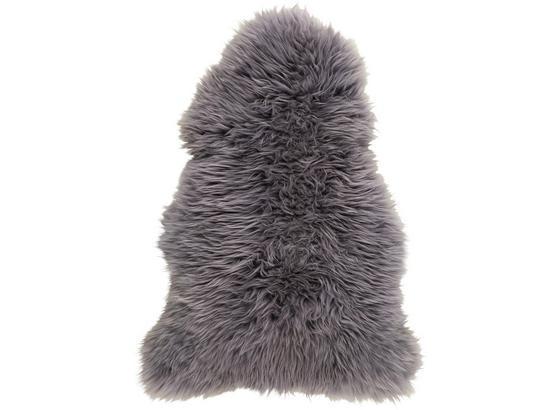 Kůže Ovčí Jenny - šedá, textil (90-105/60cm) - Mömax modern living