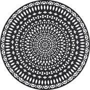 Nástenná Dekorácia Paolo - čierna, kov (85/0,5cm) - Mömax modern living