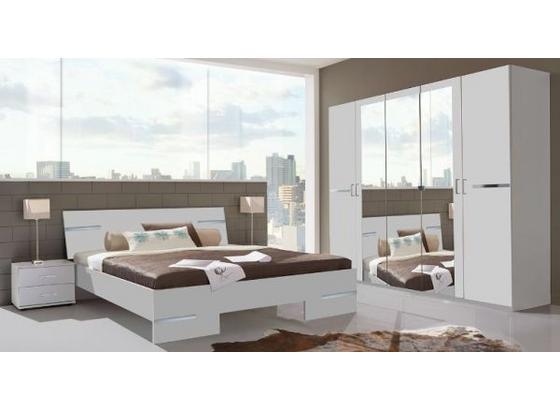 Schlafzimmer Anna - Weiß, MODERN, Holzwerkstoff