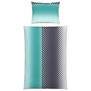 Bettwäsche Zera - Türkis, MODERN, Textil - LUCA BESSONI