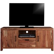 TV-Element Willow - Akaziefarben, MODERN, Holz/Metall (145/60/40cm)