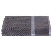 Duschtuch Rocky - Grau, ROMANTIK / LANDHAUS, Textil (70/140cm) - James Wood