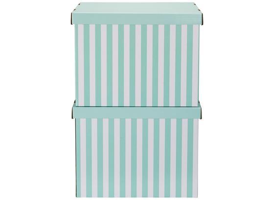 Box S Krytom Jimmy - biela/zelená, kartón (42/32/32cm) - Mömax modern living