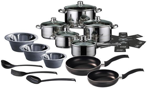 Hochwertiges Kochtopfset mit 20 Teilen