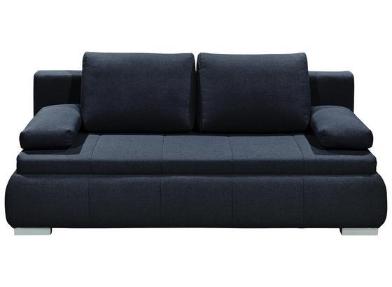 Schlafsofa mit Bettfunktion und Bettkasten Norman Webstoff - Silberfarben/Grau, KONVENTIONELL, Holzwerkstoff/Textil (208/95/105cm) - Carryhome