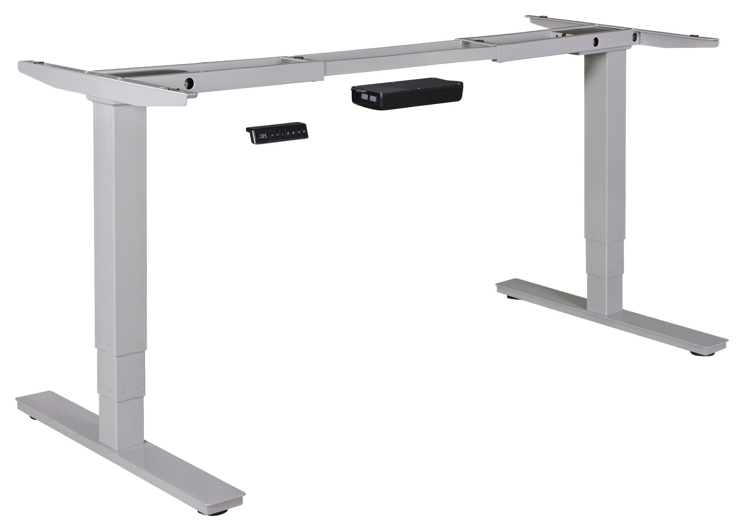 Tischgestell in Silberfarben