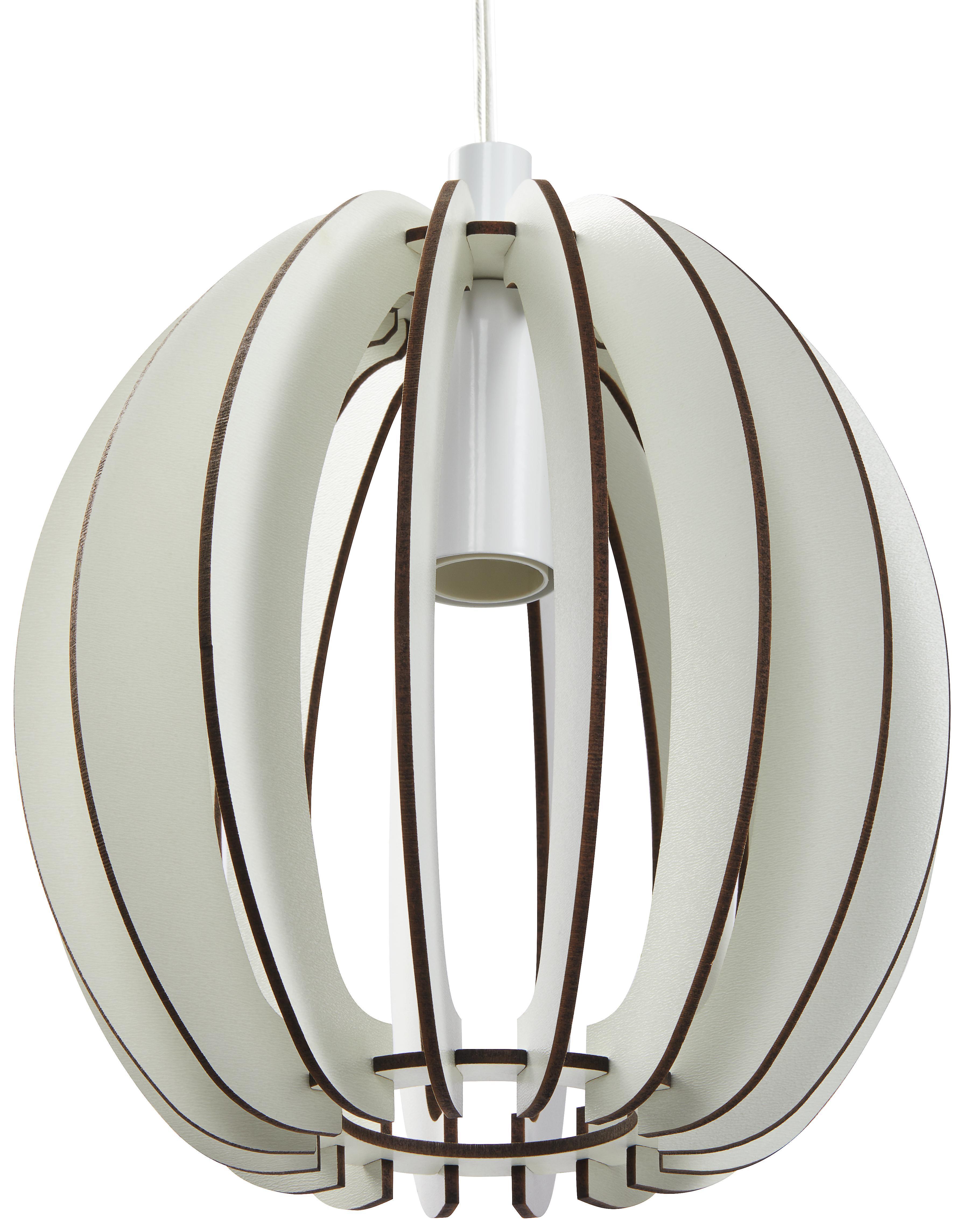 Lampenschirm aus Holz und Metall
