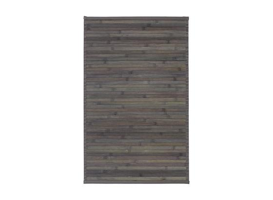 Koberec Tkaný Na Plocho Paris 1 - tmavě šedá, textil (50/80cm) - Mömax modern living