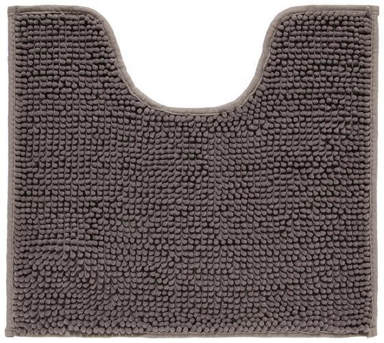 WC-Vorleger Anke - Anthrazit, MODERN, Textil (45/50cm) - Luca Bessoni