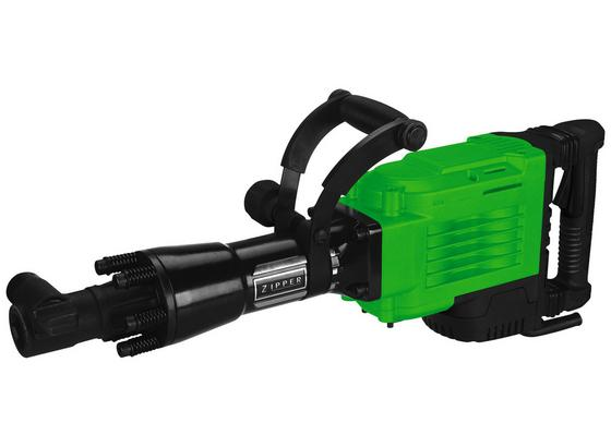 Abbruchhammer ZI-ABH1700D - Schwarz/Grün, MODERN, Kunststoff/Metall - Zipper