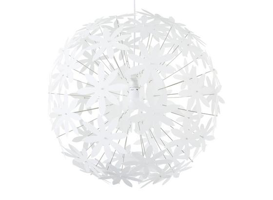 Závěsné Svítidlo Begonia - bílá, Lifestyle, kov/umělá hmota (60/150cm) - Mömax modern living