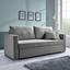 Pohovka Joe - svetlosivá, Moderný, drevo/textil (204 93 162/83cm) - Mömax modern living