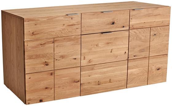 Sideboard Bianco - Eichefarben, MODERN, Holz (180,2/81,5/42,9cm)
