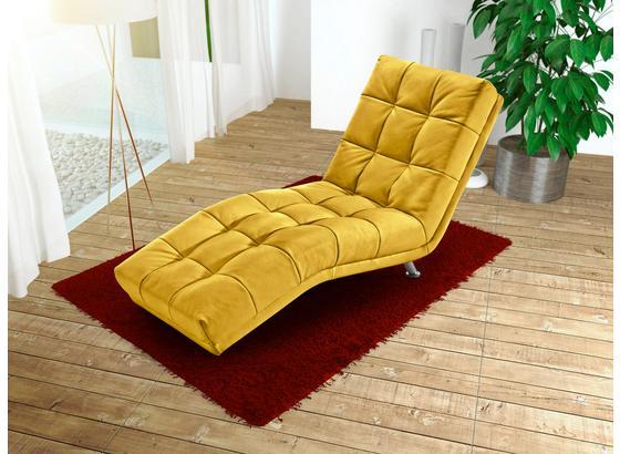 Válenda Isabella - tmavě žlutá, Moderní, textil (68/88/164cm)
