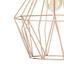 Závěsné Svítidlo Skeletton 30/110 Cm, 60 Watt - měděné barvy, kov (30/110cm) - Mömax modern living