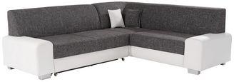 Sedací Souprava Miami - šedá/bílá, Basics, dřevo/textil (260/210cm)