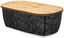 Brotdose Bamboo - Schwarz/Naturfarben, MODERN, Holz (36/13.5/20.5cm) - James Wood