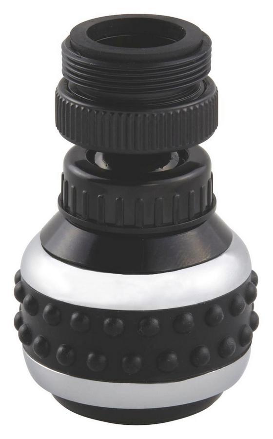 Csapszűrő Kétállású - fekete/szürke tölgy dekor, konvencionális, műanyag