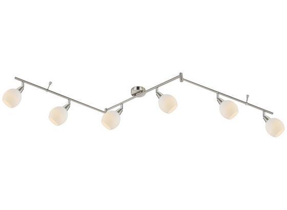 Led Bodové Svetlo Samuel 180cm, 6x3 Watt - Konvenčný, kov/sklo (180cm) - Mömax modern living