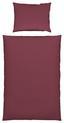 Povlečení Stone Washed Uni, Ca.140x200cm - bordová, Moderní, textil (140/200cm) - Mömax modern living