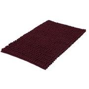 Bidet-Vorleger Celine, 60x60cm - Weinrot, Basics, Textil (60/60/4cm) - Kleine Wolke