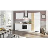 Küchenblock Turin - Blau/Currygelb, LIFESTYLE, Holzwerkstoff (310cm) - Qcina