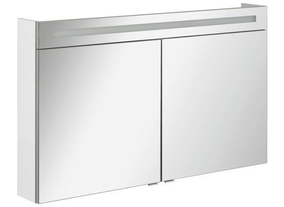 Spiegelschrank B.clever 120 cm Weiß online kaufen ➤ Möbelix